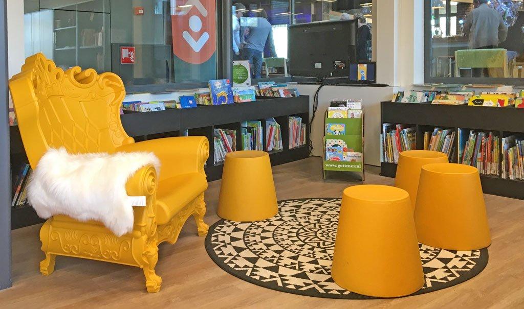 Verhuizing en inrichting Bibliotheek Lith