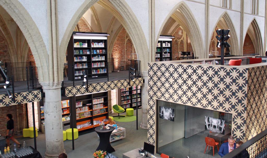 inrichting bibliotheek Zutphen