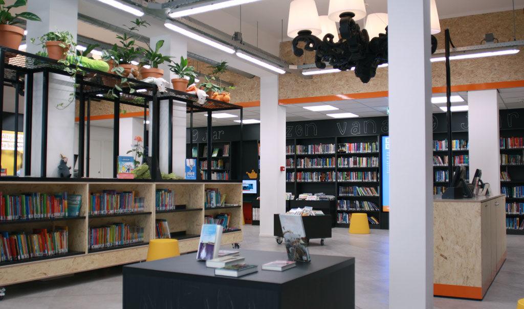 inrichting bibliotheek