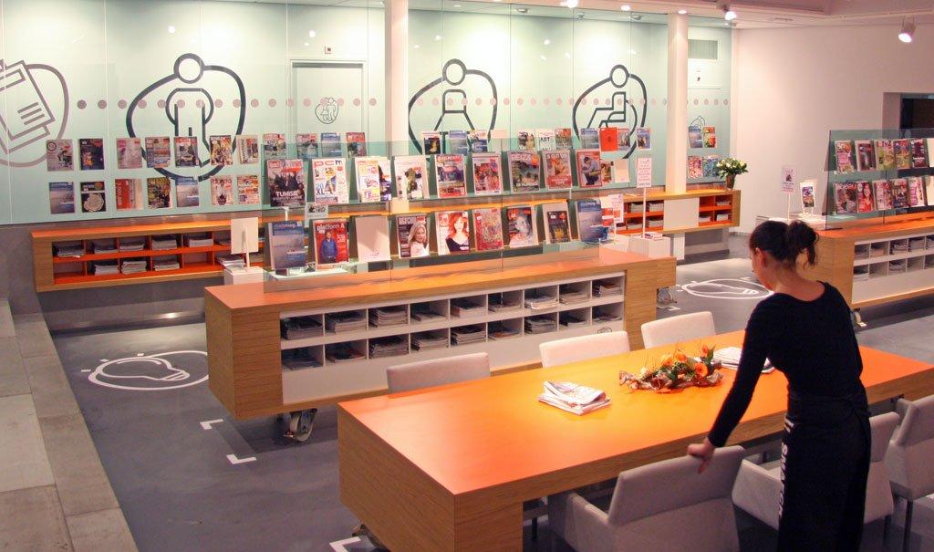 Verbouwing en herinrichting Bibliotheek Bergen op Zoom
