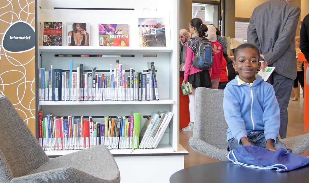 Nieuwe inrichting Bibliotheek Feijenoord in Rotterdam