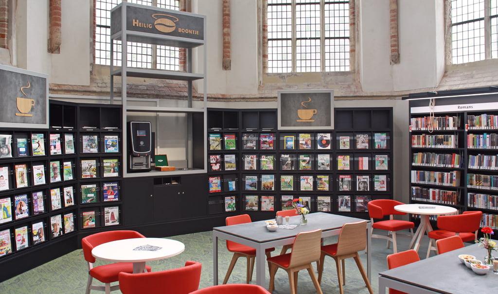 Verbouw en inrichting Bibliotheek Zutphen in Rijksmonument Broederenkerk