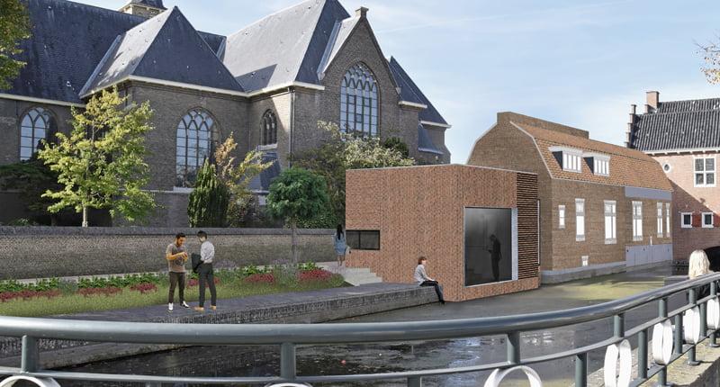 'Het Oude Raadhuis van Oud-Beijerland krijgt een aanbouw met eigentijds uiterlijk'
