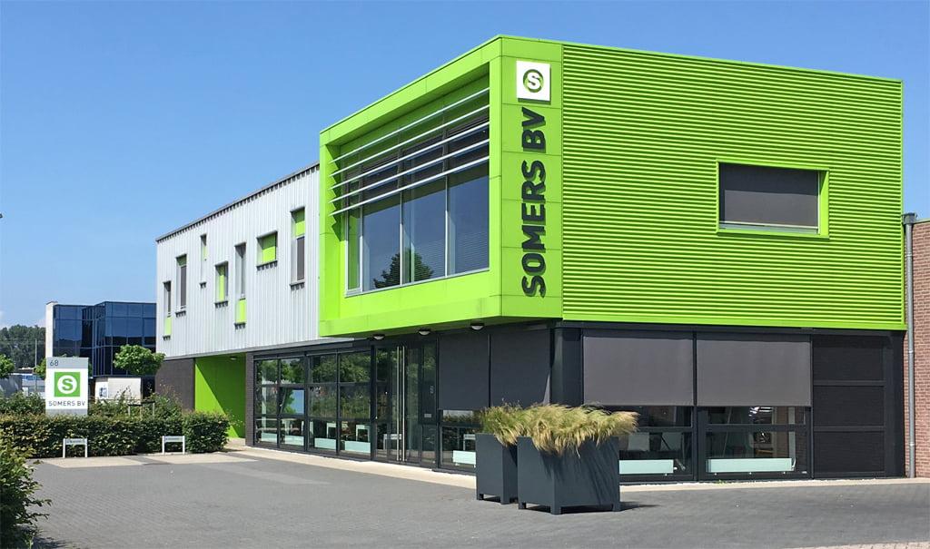 Nieuwbouw bedrijfsgebouw in Waalwijk