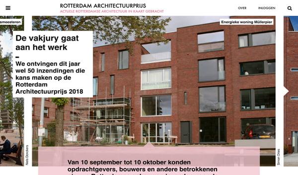 Rotterdam Architectuurprijs 2018 inzending Energieke woning Mullerpier