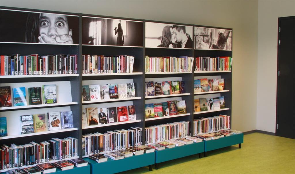Inrichting de Bibliotheek op School in Zuidland