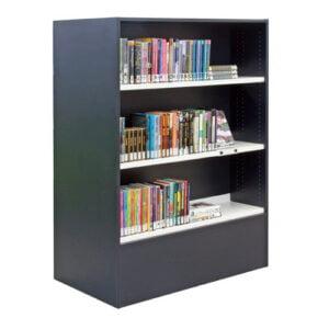 Houten boekenkast tweezijdig, hoog 1382mm
