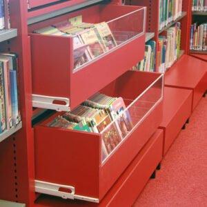 Info-Junior-Inzetlade boekenkast