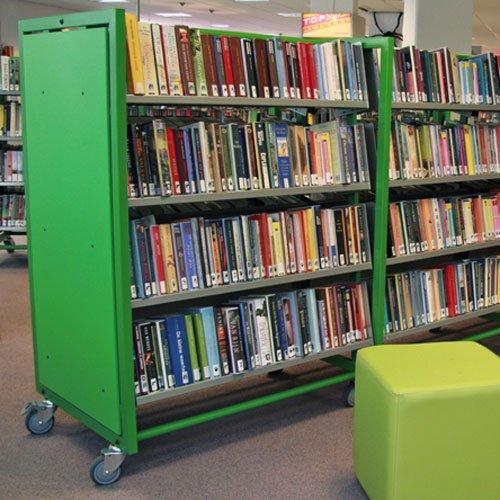 mobiele boekenkast