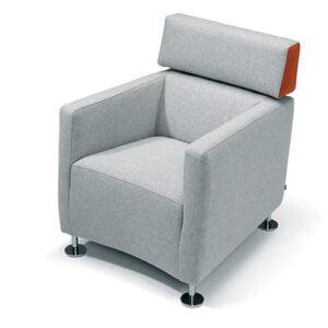 Saar fauteuil met armleuning