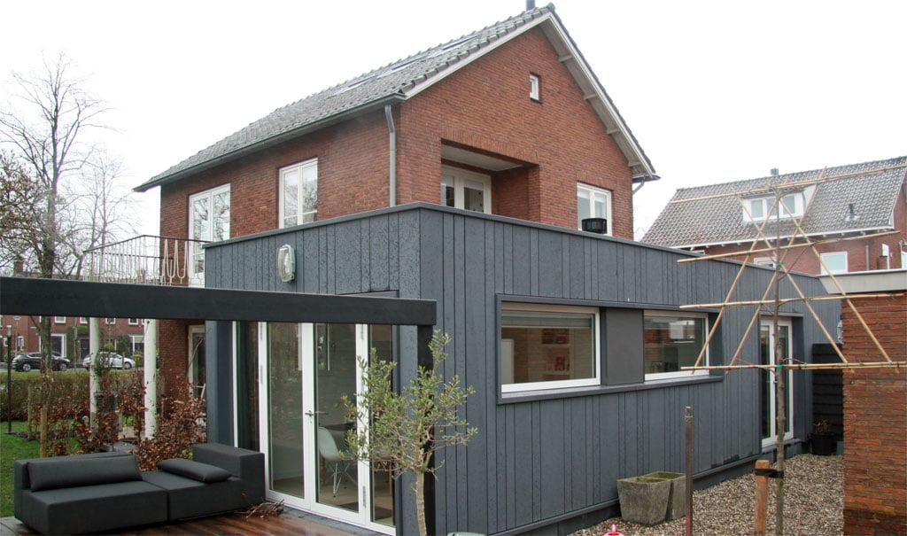 Moderne uitbreiding jaren 60 woning in Gouda