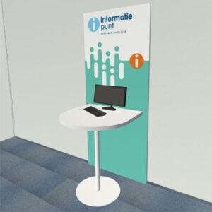 IDO - Statafel wandmodel