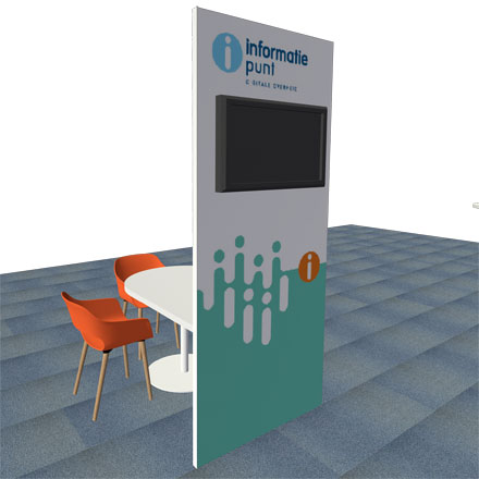 Infopunt Digitale Overheid tafel model-vrijstaand