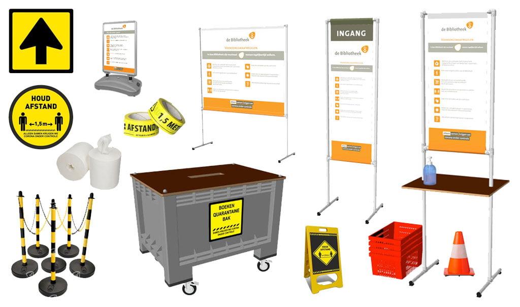coronavirus producten bibliotheken