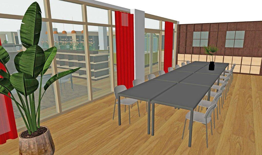 Inrichting Bibliotheek Lichtenvoorde – huiskamer aan het Nieuwmarkt-plein