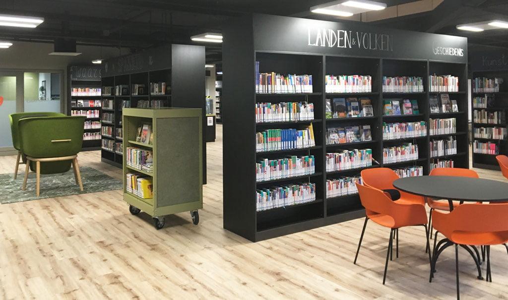 """Inrichting Bibliotheek Oldenzaal – centrale ontmoetingsplek in winkelcentrum """"In den Vijfhoek"""""""
